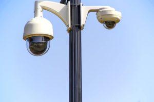 Rotary CCTV camera